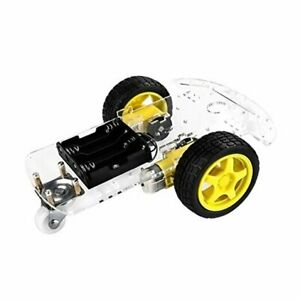 Emo Smart Robot Car Chassis Kit With Motors Speed Encoder And Battery Box For