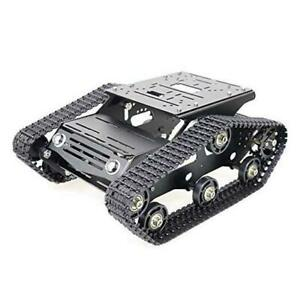 Szdoit Professional Metal Tracked Robot Tank Chassis For Arduino raspberry Pi