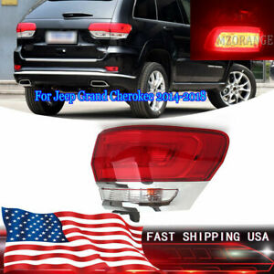 Right Side Outer Tail Light Rear Brake Lamp For Jeep Grand Cherokee 2014 15 2018