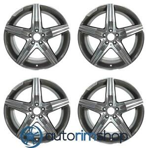 Mercedes S63 2014 2018 20 Factory Oem Amg Staggered Wheels Rims Set