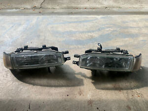 Front Headlights Pair Set For 92 93 Honda Accord combination Left Right