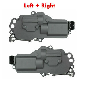 Power Door Lock Actuator Motor Left And Right Pair Fits Ford Lincoln Mercury