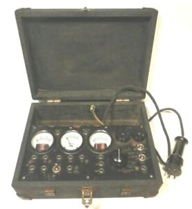 Vintage Readrite Tube Tester 700 For Early 4 5 Pin Tubes Tested Working