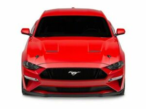 Modern Billet Hood Pin Appearance Kit In Black Fits All Ford Mustang 2015 2020
