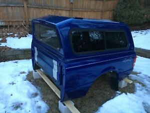 Lund Truck Cap Ford Ranger Oem Sonic Blue 6 Foot Bed Topper