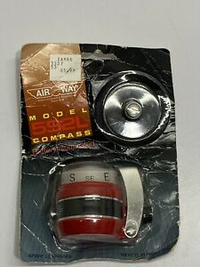 Vintage Airway Compass Model 592l Auto Boat Marine Car Truck New