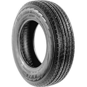 2 New Rubbermaster Rm76 St 235 85r16 Load E 10 Ply Trailer Tires
