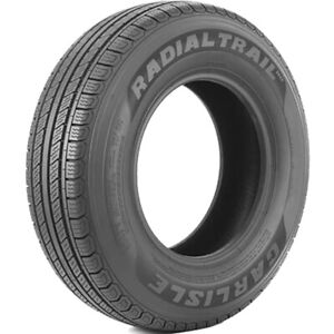 2 New Carlisle Radial Trail Hd St 235 85r16 Load E 10 Ply Trailer Tires