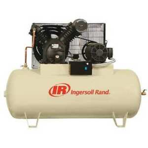 Ingersoll Rand 2545e10 v 460 3 Electric Air Compressor 2 Stage 10 Hp