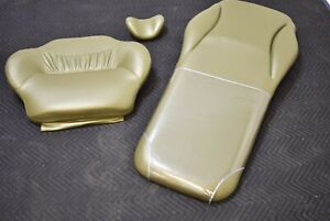 Belmont Dental Dentistry Exam Chair Olive Green Ultra Leather Upholstery