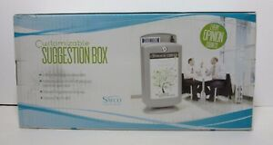 Safco Customizable Suggestion Box 4233 Gr New