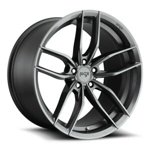 18x8 18x9 5 Niche M204 Vosso 5x114 3 40 35 Gun Metal Wheels Rims Set 4 72 56