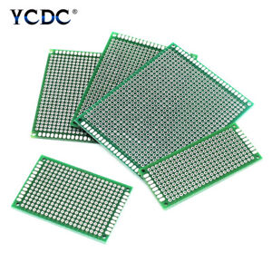 One duel sided Prototyping Pcb Circuit Board Strip Breadboard Diy For Arduino 9