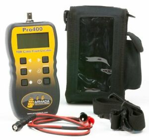 Armada Pro400 Handheld Graphical Tdr Cable Fault Locator
