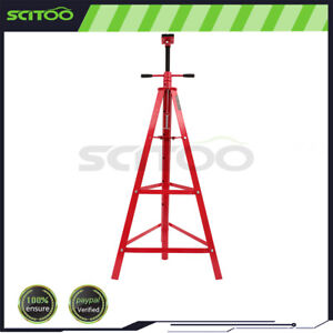 4000 Lb Capacity Tall Under Hoist Jack Stabilizer Stand Support Lift Heavy Duty