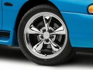 American Muscle Bullitt Wheel In Chrome 17x9 Fits Ford Mustang 1994 1998