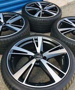19 Audi A3 S3 Rs3 Factory Oem Genuine Bbs Wheels Rims Tires Set Staggered