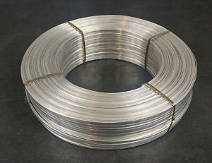 3000 Flat Aluminum Wire Pure 1080 Annealed Alloy 1mm X 3 7mm Coil Roll Feet