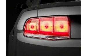 Raxiom Smoked Aero Tail Lights Styling Fits Ford All Mustang 2010 2012