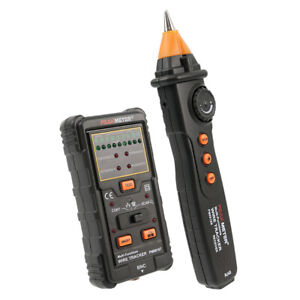 Network Rj11 Cable Finder Tracker Tester Wire Tone Generator Probe Tracer W Bag