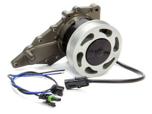 Meziere Wp520 Black Alum Street Style Electric Water Pump Kit Toyota Supra