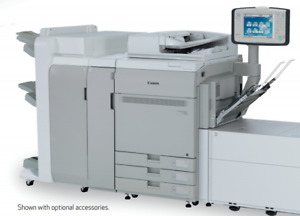 Canon Imagepress C850 Copier printer With Finisher And Server G 200 Low Meter