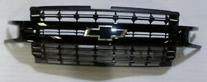 2019 2020 Chevrolet Silverado 1500 Front Grille Grill Black Oem New Take Off