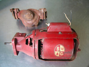 Bell Gossett Booster Circulation Pump Series 100 For Parts Or Rebuild
