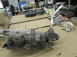 Hurst Competition Plus 4 Speed Shifter Rods 12 Chrome Handle Trans Not Incl
