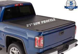5 7ft Bed Cover Low Profile Fits 09 18 Dodge Ram 1500