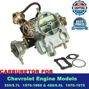 Carburetor Carb Type Rochester 2gc 2 Barrel For Chevy Chevrolet Engn 350 400 1pc