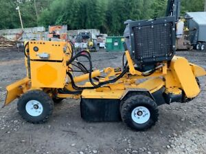2017 Carlton Sp5014 Stump Grinder With Only 684 Hours 3985