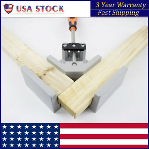 90 Corner Clamp Right Angle Woodworking Vice Wood Metal Welding Tool 68mm Usa