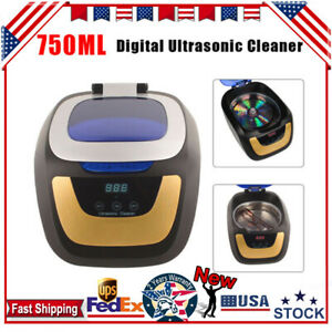 750ml Professional Ultrasonic Machine With 5 Cleaning Sections Digital Control