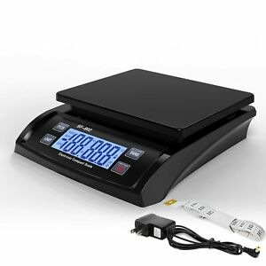 66 Lb X 1g Digital Postage Scale Postal Shipping Mail Packages Scale Ac Adapter