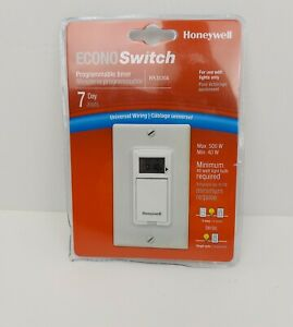 Honeywell Rpls530a 7 day Programmable Timer Switch White Requires 40 W Minimun