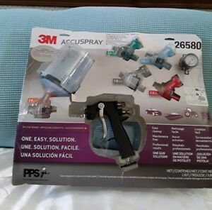 3m Accuspray spray Gun System With Pps Series 2 0 Pre Owned