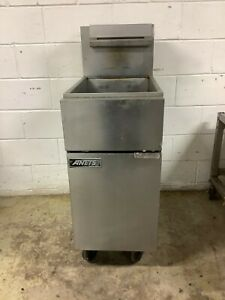 40lb Fryer Anets 14vfs Natural Gas Tested