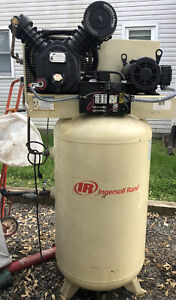 Ingersoll rand Air Compressor 5 0 Hp 3 Phase Electrical Barely Used