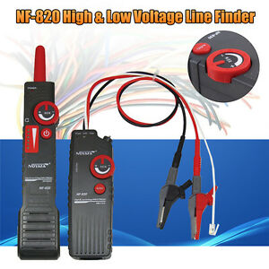 Nf 820 High low Voltage Underground Wall Wires Fault Locator Cable Finder Tools