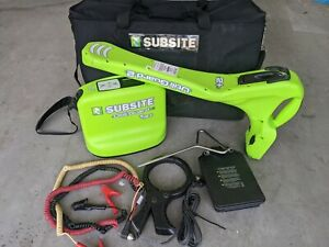 Ditch Witch Subsite Utiliguard 2 Pipe Locator T12 advanced W extra Battery