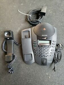 Polycom Soundpoint Pro Se 225 2 line Conference Phone With Interconnect Module