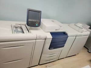 Xerox 560 With Fiery Ex 560 Rip Computer Oversize High Capacity Feeder Booklet