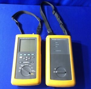 Lot Of 1 Fluke Dsp 100 Lan Cable Meter 1 Dsp sr Smart Remote For Parts