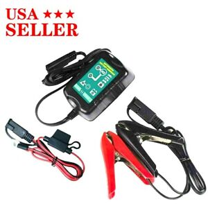 Can Be Used For 6v 12v Car Battery Charger Maintainer Marine Motorcycle