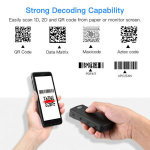 Usb Wired 2 4g Wireless Bluetooth Bar Code Scanner Reader For Ios Android