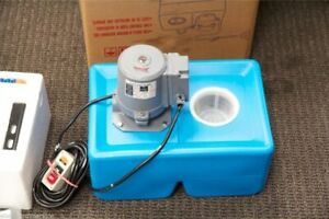 Ue 9l General Purpose 1 8 Hp Coolant Pump With Tank And Nozzle Assembly 110v