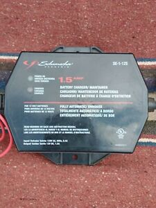 Schumacher 1 5 Amp Battery Charger Maintainer Se 1 12s Black