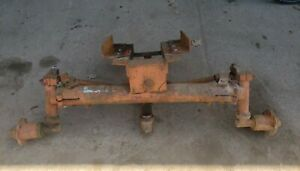 Allis Chalmers Wc Wd Wide Front End Universal Tractor Front Model Ac Wc