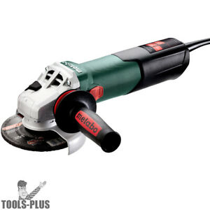 Metabo 600431420 4 5 5 High Torque Angle Grinder 9 600 Rpm 12 0a W lock on New